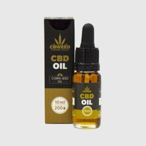Έλαιο Κάνναβης Black Cumin Seed Oil 5% CBD