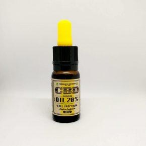 Σταγόνες Eλαίου Kάνναβης 20% CBD (πλήρους φάσματος)