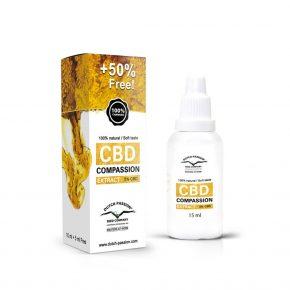 Έλαιο κανναβιδιόλης Compassion Extract 5% CBD
