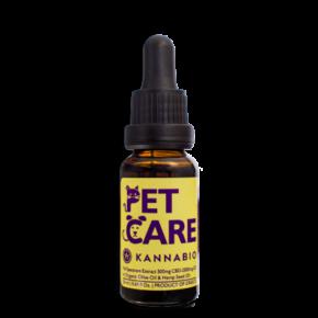 Έλαιο Κάνναβης για κατοικίδια Pet Care CBD Drops (500mg/20ml)